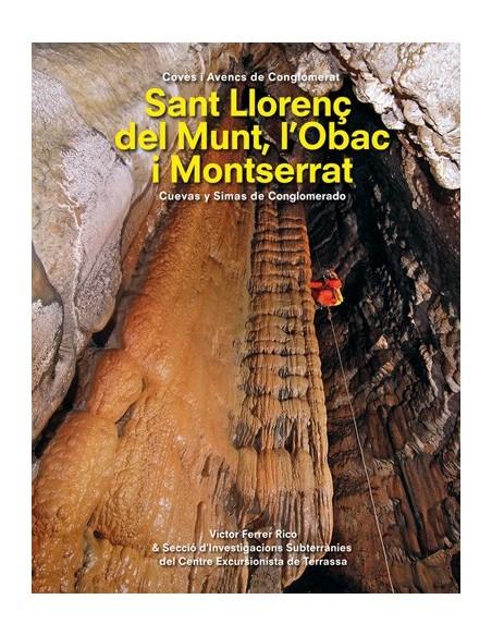 Libro Cuevas y Simas en Conglomerado. Sant Llorenç del Munt
