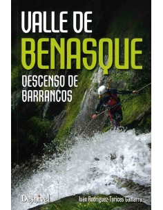 Libro valle de Benasque descenso de barrancos