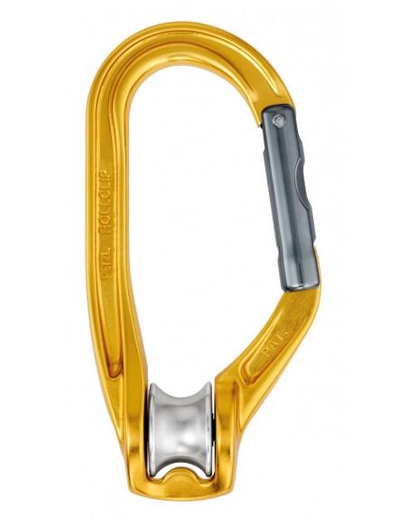 Polea mosqueton Rollclip triact lock Petzl