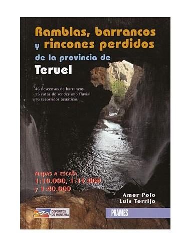 Libro ramblas barrancos de la provincia de Teruel