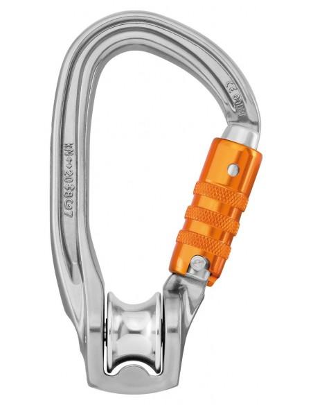 Polea mosqueton Rollclip  Z triact lock Petzl