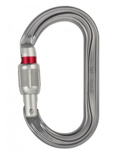 Mosqueton OK screw lock Petzl