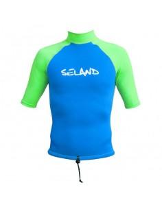 Camiseta Puket azul seland