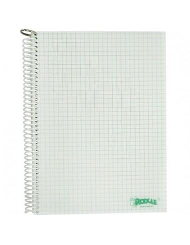 Waterproof topographic notebook aqua...