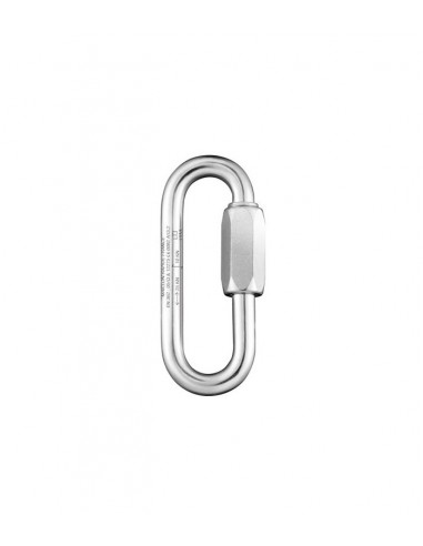 OVAL LONG MAILLON STEEL 7 MM FIXE