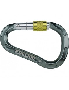 Mosqueton pure screw silver edelrid