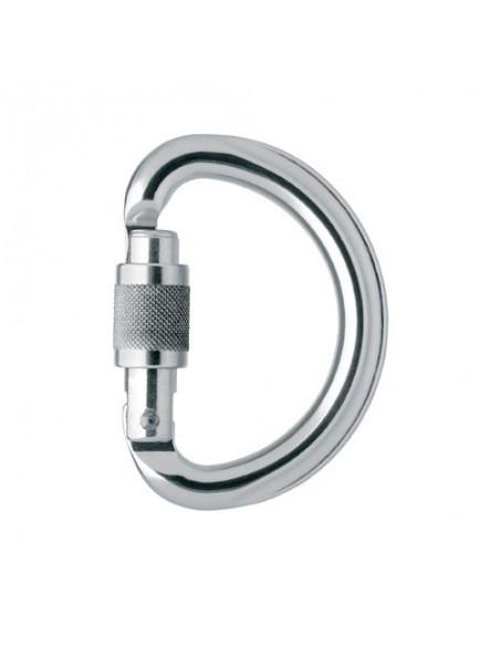 Mosqueton omni screw lock petzl