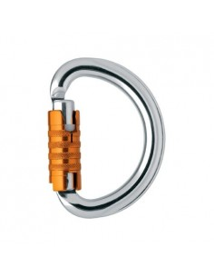Mosqueton omni screw lock petzl